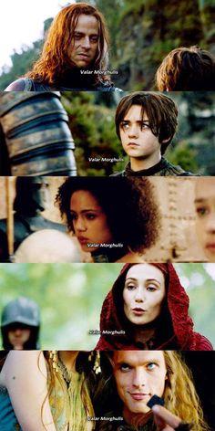 Valar Morghulis ~ Game of Thrones Fan Art