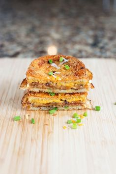 scalloped potato grilled cheese.