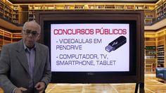 Concursos Públicos Videoaulas em Pendrives