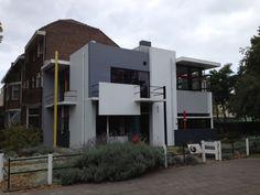 The Rietveld Schroder house in Utrecht.