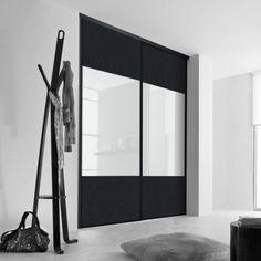 Lot de 2 portes de placard coulissantes atelier 120 x 250 Porte coulissante 120 cm de large