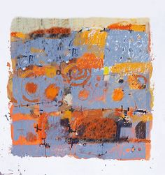 Paul Balmer - Landscape in grey and orange-2