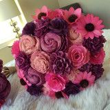 Pre-made crafted flower bouquets