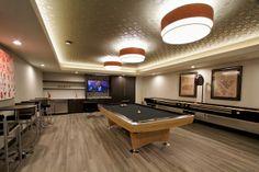 Tessera Billiards Room - Interiors By Vida Design - www.vida-design.net