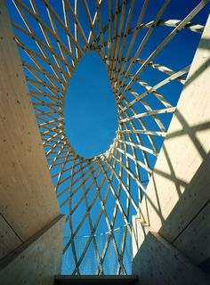 Kupla – Helsinki Zoo Lookout Tower / Avanto Architects , Ville Hara and Anu Puustinen . Lookout Tower, Skylight, Helsinki, Shelter, Texture, Artwork, Architects, Pictures, Construction
