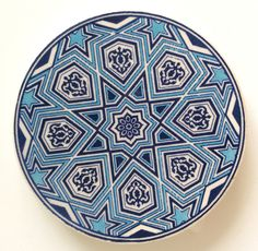 paint your own pottery Ceramic Coaster - Create your own set! Ceramic Coasters, Ceramic Plates, Ceramic Pottery, Turkish Tiles, Turkish Art, Ceramic Painting, Ceramic Artists, Islamic Decor, Ottoman Design