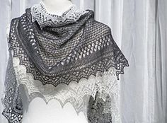 Ravelry: Love on the Edge pattern by Monique Boonstra This is a vèry open patterned lace shawl.  You need to be a skilled lace knitter for this beauty.  Knit knit rows in lace and knit purl rows in lace.