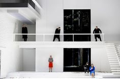 mostly opera: Salzburg 2011 - Claus Guth Cosi Fan Tutte in a major revision