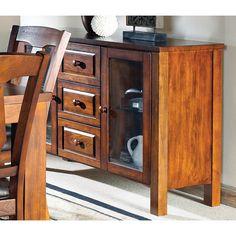 Greyson Living Lansing Medium Oak 3-drawer Server