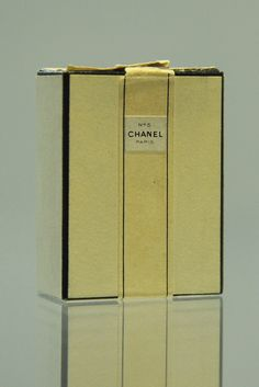 The Chanel No.5 outer box from 1921. [Courtesy Photo]
