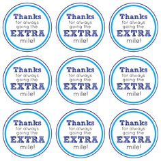 graphic relating to Thanks for Going the Extra Mile Printable named Present Excess this Trip Time Reward Strategy + Free of charge Printable