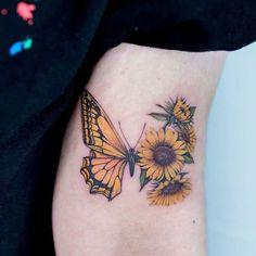 Cute Tiny Tattoos, Bff Tattoos, Beautiful Tattoos, Body Art Tattoos, Small Tattoos, Woman Body Tattoo, Colorful Butterfly Tattoo, Butterfly Wrist Tattoo, Butterfly Tattoo Designs