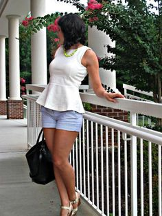 Chic of the Week: Jessica's Peplum Perfection
