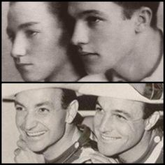 Gene Kelly (on right) & his dancing brother Fred