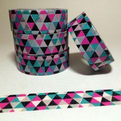Pretty Geometric Washi Tape Design