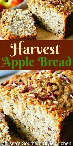 Best Homemade Bread Recipe, Quick Bread Recipes, Banana Bread Recipes, Apple Recipes, Fall Recipes, Baking Recipes, Homemade Breads, Holiday Recipes, Homemade Rolls