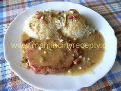 Znojemské plátky Pork, Meat, Chicken, Cooking, Kale Stir Fry, Pork Chops, Cubs