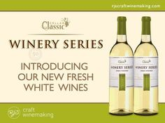 Announcing our new white wines, uniquely designed to bring out the best flavours and aromas in each varietal. Carefully selected yeast strains will highlight and enhance varietal characteristics during the fermentation process, creating a white wine that is sure to have everyone reaching for a second glass.