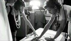 Mika and Yasmine (DaWack) creating!