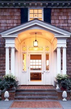 front porch arch