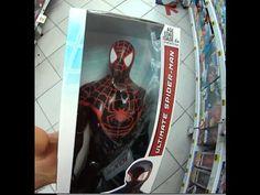 Homem Aranha boneco Iron Spider Ultimate Spider-Man Spider-Man 2099 Brin...