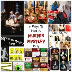 7 Ways To Host A Killer Murder Mystery Party
