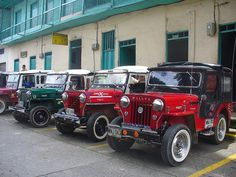 Jeep Willys, Región Cafetera de  Colombia