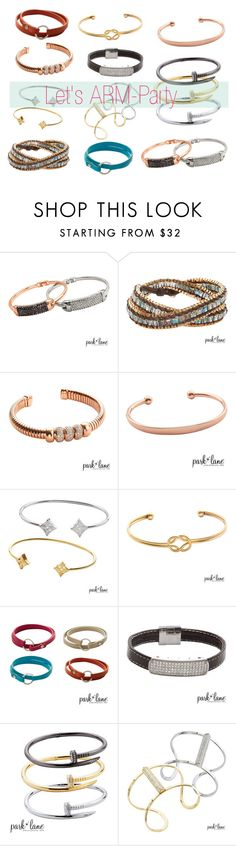 """Arm Party"" by parklanejewelry on Polyvore www. Parklanejewelry.com/rep/debbietoyoshiba  Buy 2 Get 4 HALF OFF!"