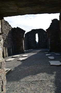 Ancient Kings of Munster are buried inside this church. Glendalough, Co. Wicklow Ireland