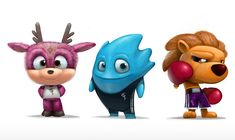 50 Funny and Beautiful 3D Cartoon Character Designs for your inspiration - part…