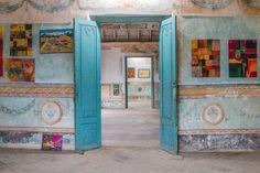 Art gallery at Casa de Aldemán Ortiz, Trinidad