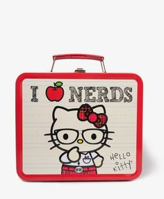Plaid Hello Kitty Lunch Box  Was:$14.80  Now:$9.99