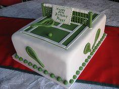 Sugar Chef: TENNIS COURT CAKE