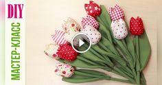 Come fare dei bellissimi tulipani di stoffa. Un classico progetto di cucito creativo facile. Degli splendidi e coloratissimi tulipani da disporre nei