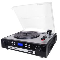 Supersonic 3 Speed Professional Turntable System