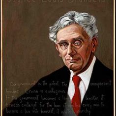 Justice Louis Brandeis Poster | Americans Who Tell The Truth