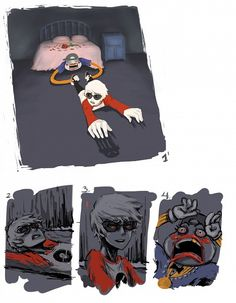 Tags: Anime, Fanart, Homestuck, Dave Strider, Lil Cal