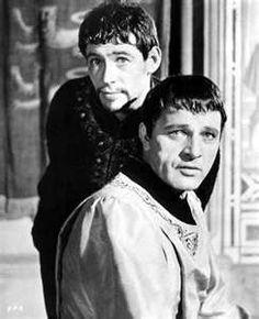 'Get the towel, no one rubs me like you can Thomas' -- King (O'Toole) to Beckett (Burton)