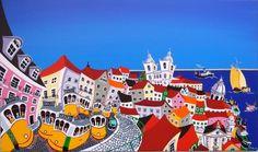 Lisboa, panorâmica lado nascente