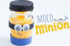 Moco de minions  un #JugueteCasero ideal para los niños de #Preescolar