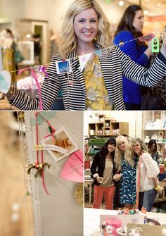inspiration strings! very cool idea from an Anthropologie event