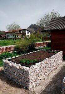 Hochbeet Aus Gabionen Josef Steiner Hochbeet Dream Yard Garden Pinterest Garden Garden Bench