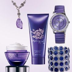 Did you know that purple is said to be the colour of inspiration? That's what inspired us to create our Power of Purple pack. Get everything you see here for just $29.99 (Reg. price $112.97). It includes: Anew Platinum Day Cream SPF 25, Unplugged For Her Body Lotion, a vintage Inspired necklace, a rhinestone embellished watch and this pretty votive holder https://upload.facebook.com/BrigittesBeautyCare/photos/a.364304250362862.1073741828.329035997223021/497701970356422/?type=1&stream_ref=10