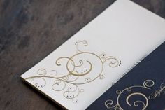 Golden Swirls   The Beauty of Engraving