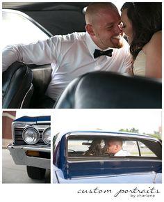 hicksville ohio wedding pittsburgh wedding photographer chevelle bride and groom portraits classic car wedding poses (12)