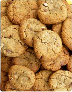 #Cookies #chocolat caramel noisettes