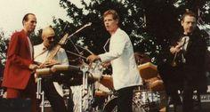 King Crimson on stage in Hamburg, 1982
