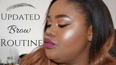My Updated Brow Routine ♡ Nicole Khumalo ♡ South African Youtuber