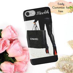 #ChanelPhoneCase #ShoppingforChanel  Chanel Phone Case Chanel Shopping Bag Louboutin Shoes Phone