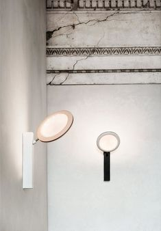 FLY-TOO - Wall lights from LUCEPLAN | Architonic Led Wall Lamp, Extruded Aluminum, Wall Brackets, Lamp Design, Wall Lights, Mirror, Lighting, Interior, River House
